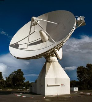 ESA's 15m tracking station, Perth, Australia