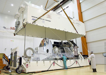 Herschel arrives in Kourou