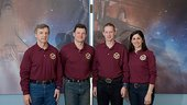 Expedition 20 and 21 crewmembers