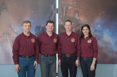 ISS Expedition 20 and 21 crewmembers