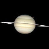 Moon transit at Saturn - another view