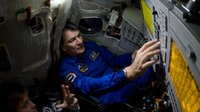 Paolo Nespoli training at Star City