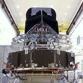 Rear view of the spacecraft.
