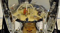 Herschel reflection in Planck telescope mirror