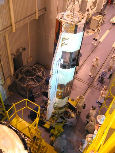 Transferring GOCE to the Upper Stage