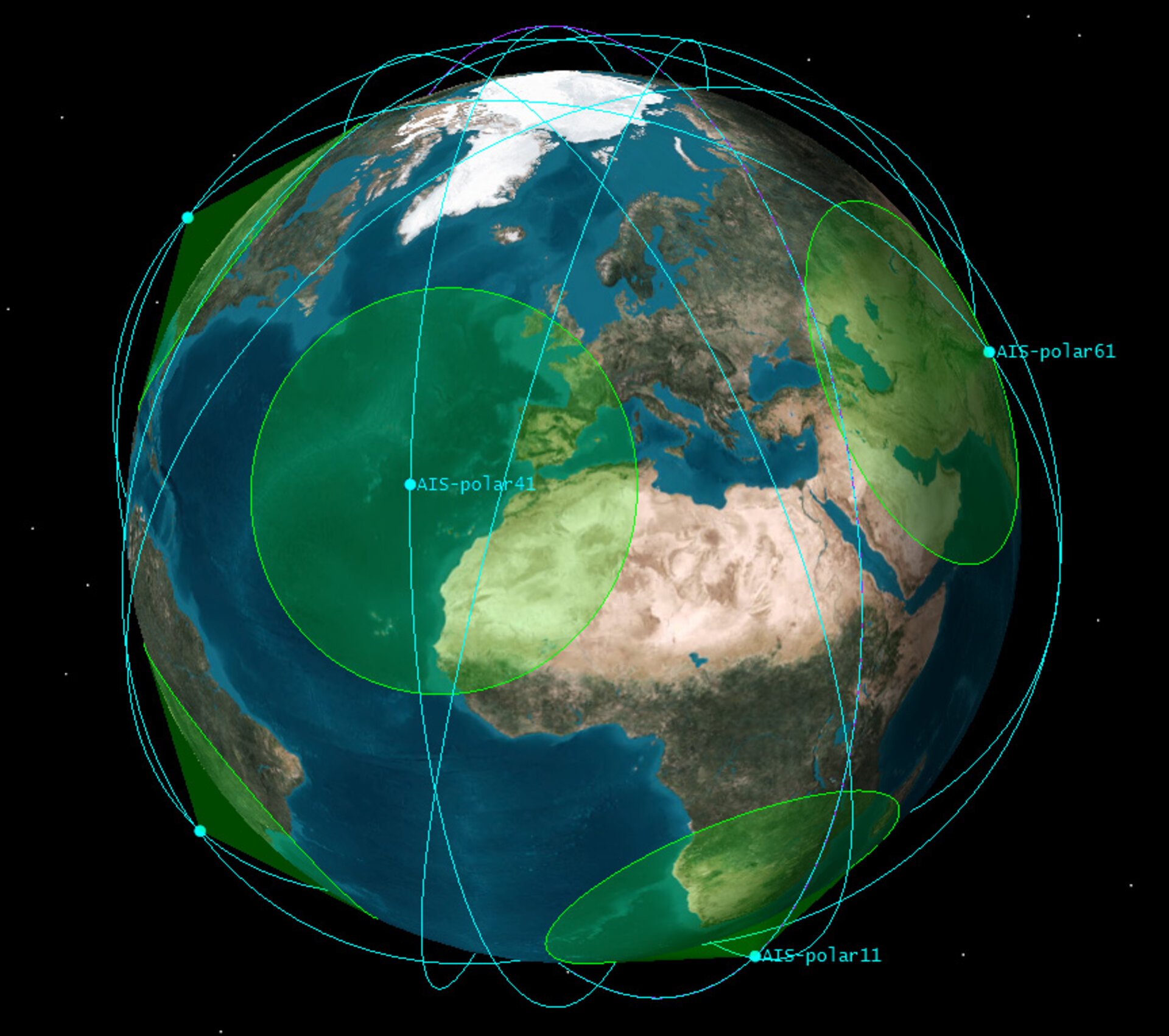 AIS signal detection from space