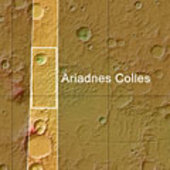 Ariadnes Colles context map