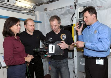 Columbus training at EAC for ISS crewmembers