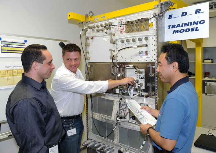 Columbus User Level & Payload Training for Expedition crewmembers
