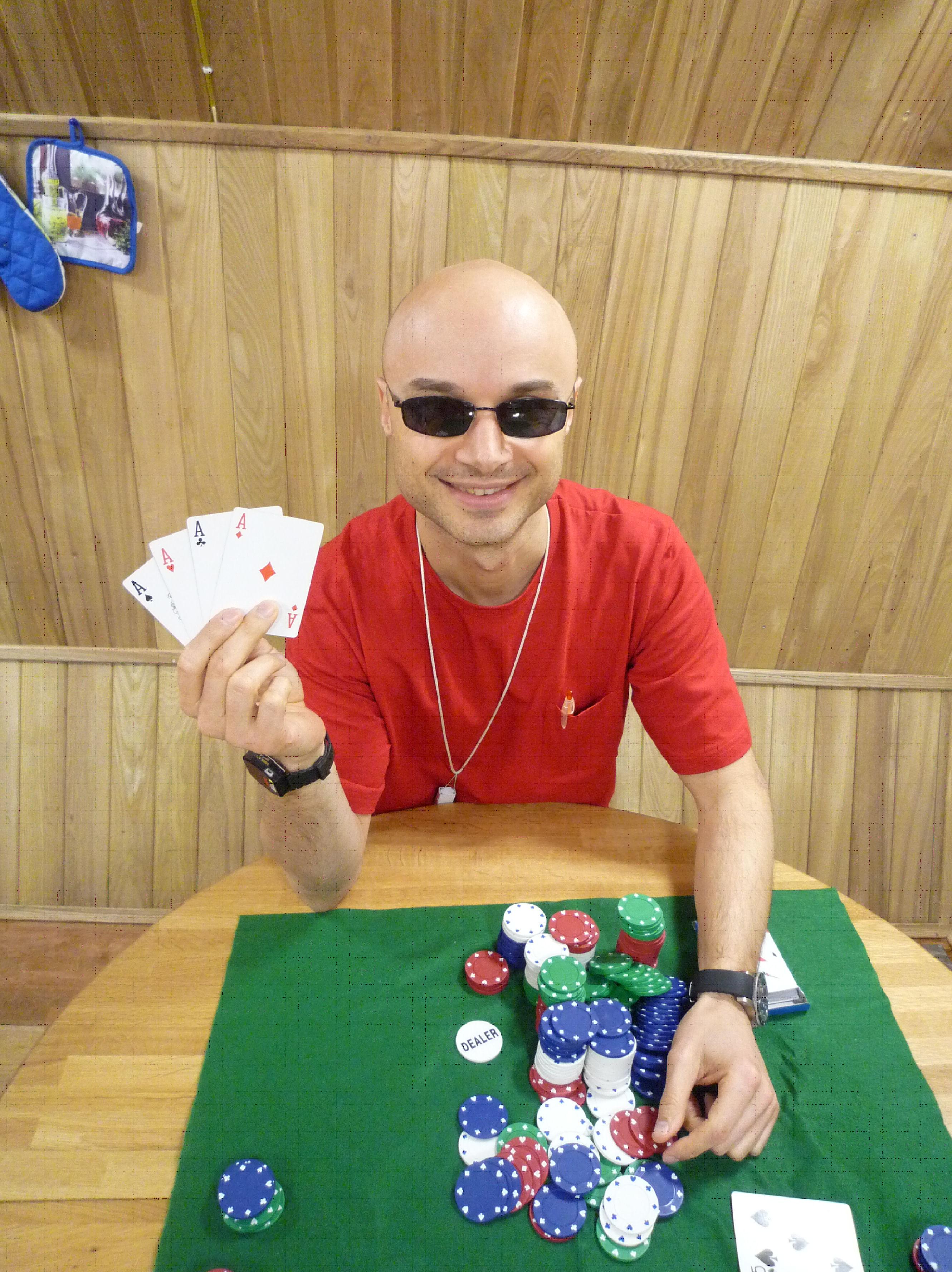 Winning at poker