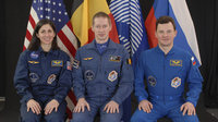 ISS Expedition 20/21 crewmembers