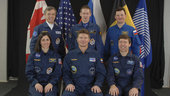 ISS Expedition 20 crewmembers