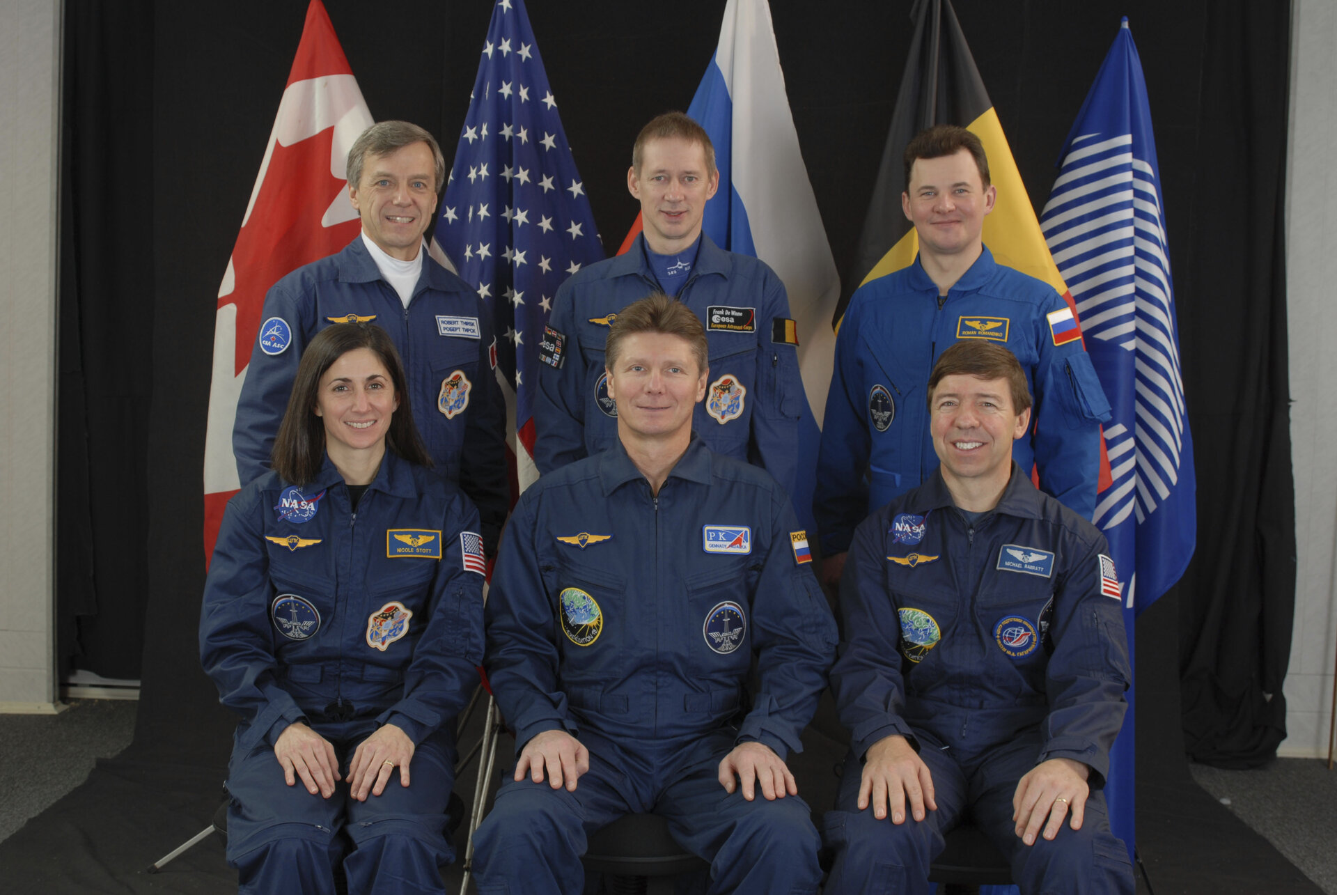 ISS Expedition 20 crew portrait