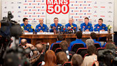 Mars500 crew for 105-day study