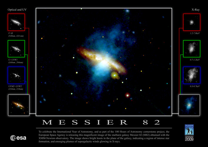 Messier 82 poster