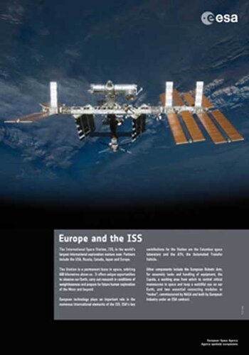 Poster - Europe and the ISS