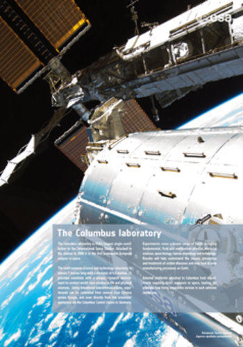 Poster - The Columbus laboratory