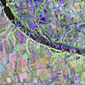 Radarsat-2 image of Indian Head