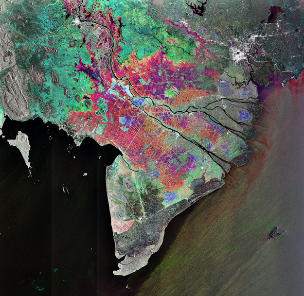 Earth From Space: Vietnam's 'rice Bowl' / Observing The