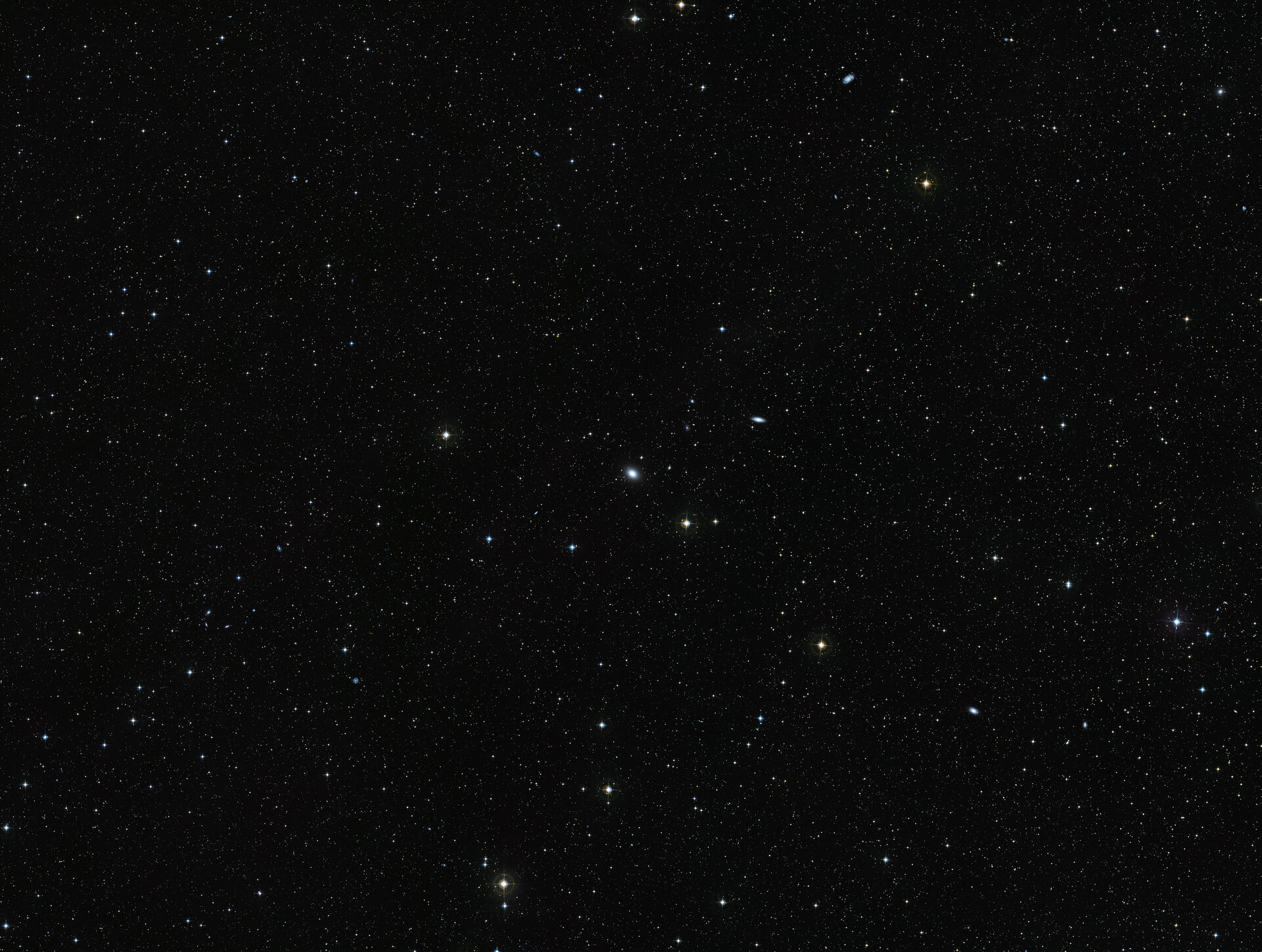Wide-field view of NGC 7049