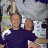 Nicollier and Clervoy during STS-103