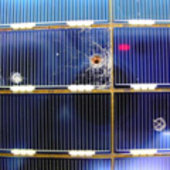 ESA built-solar cells retrieved from the Hubble Space Telescope