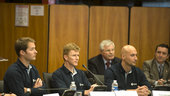 Europe's new astronauts were presented at a press conference
