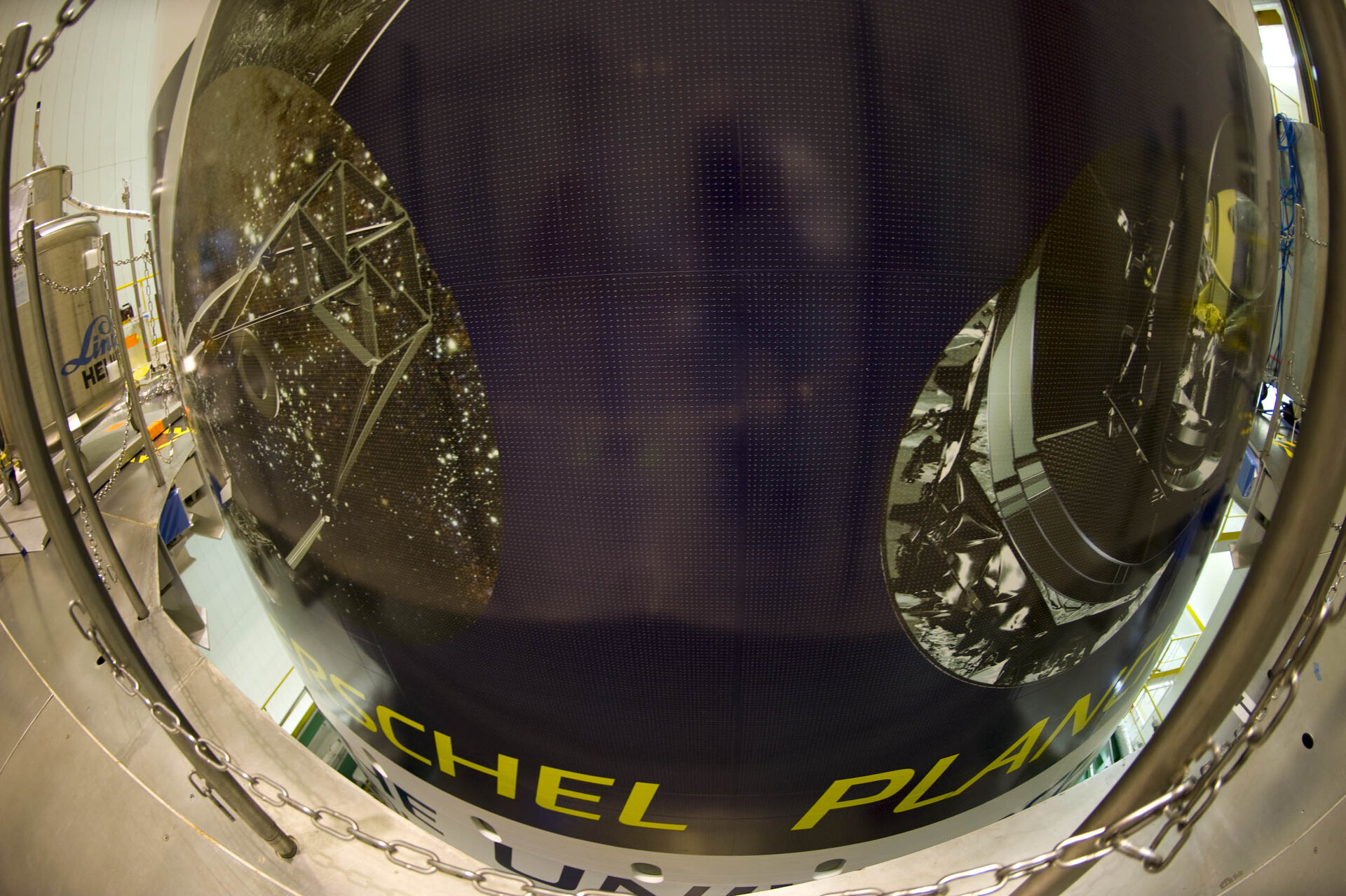 Fairing of the Ariane 5 carrying Herschel and Planck
