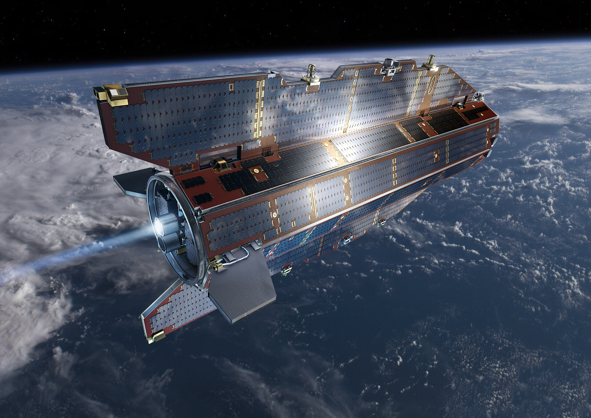 GOCE in orbit