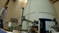 Helium vent connected to the Herschel cryostat