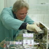 Lothar Gerlach examines solar cells