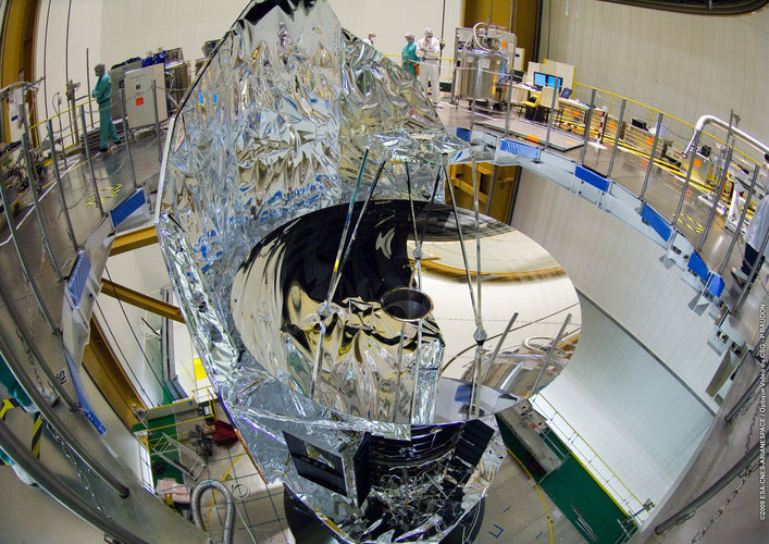 One of the last views of the Herschel mirror