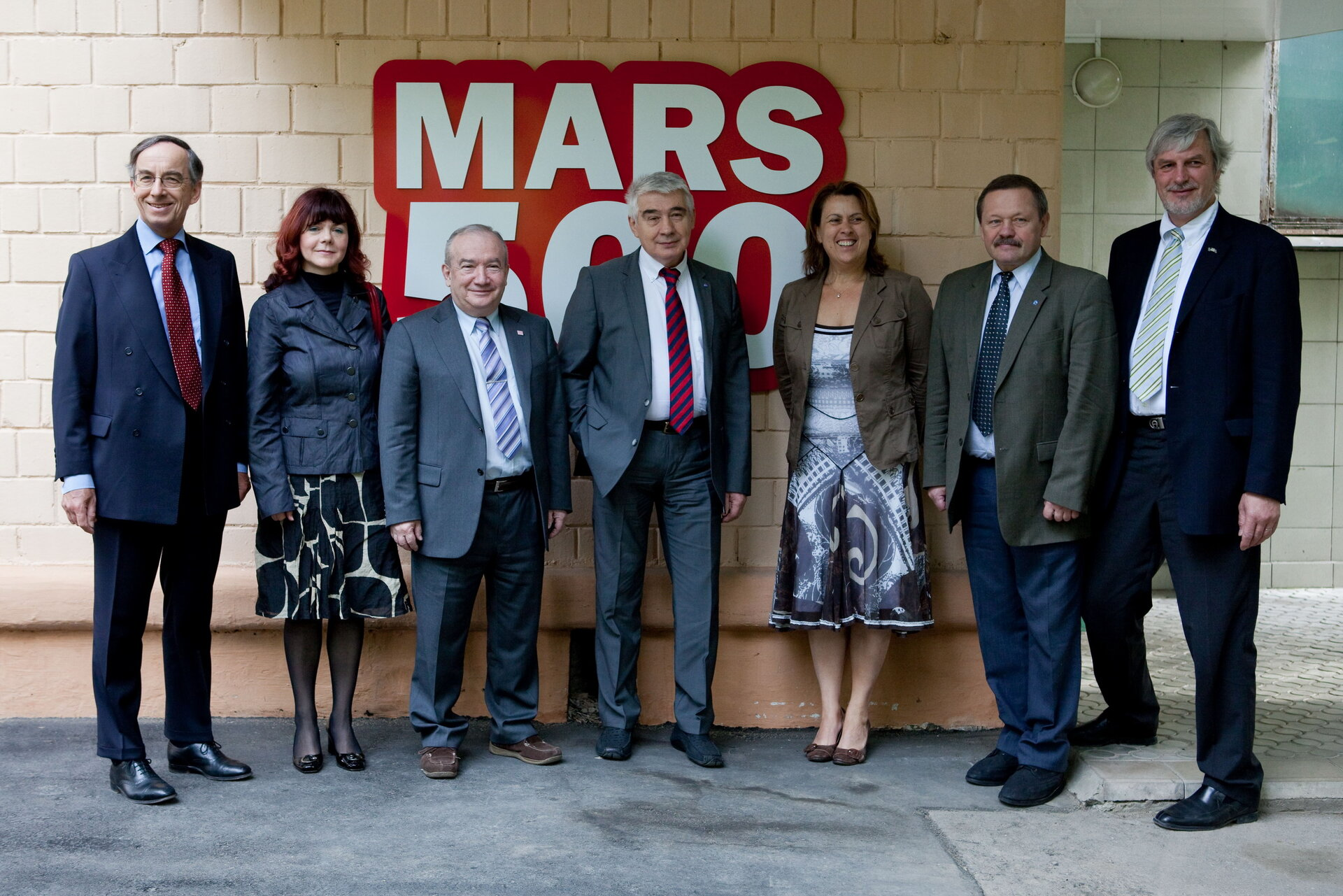 Simonetta Di Pippo visited the Mars500 facility at IBMP in Moscow, Russia