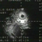 The ISS seen from the Soyuz TMA-15 spacecraft as it approached f