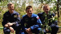 Tree-planting ceremony - one of many Soyuz crew traditions
