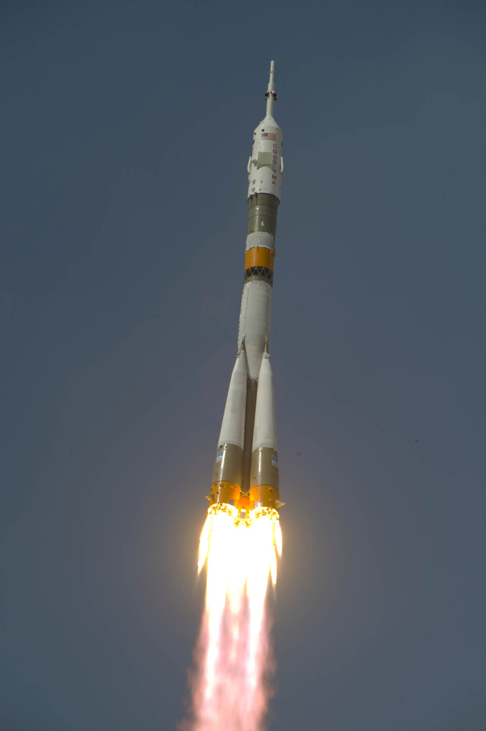 The Soyuz TMA-15 spacecraft was launched from Baikonur Cosmodrome on 27 May