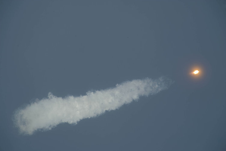 Soyuz TMA-15 launch