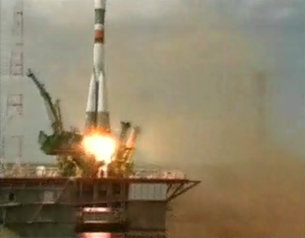 Launch of Soyuz TMA-15