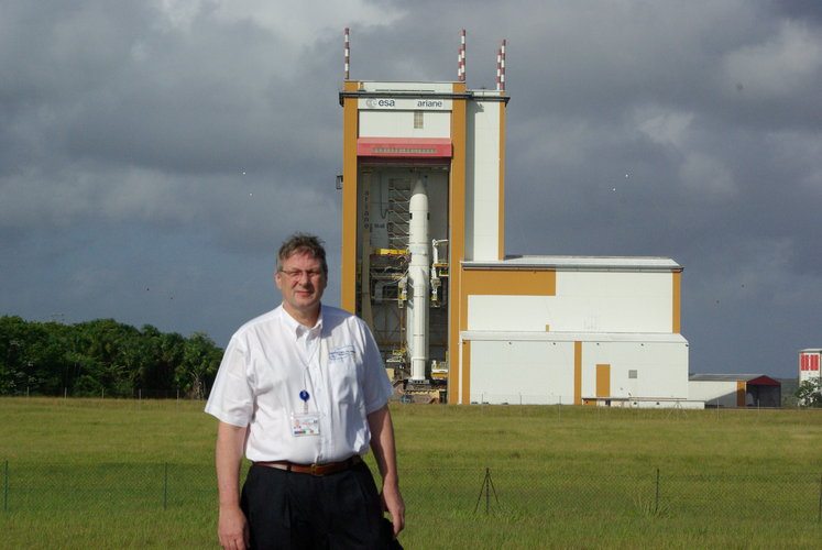 Thomas Passvogel, ESA Herschel and Planck Programme Manager
