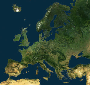 A united Europe from space