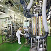 View inside MELiSSA pilot plant in Barcelona