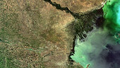 Earth from Space: Volga Delta