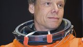 Christer Fuglesang during STS-128 preflight training