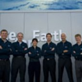 ESA astronauts at Le Bourget