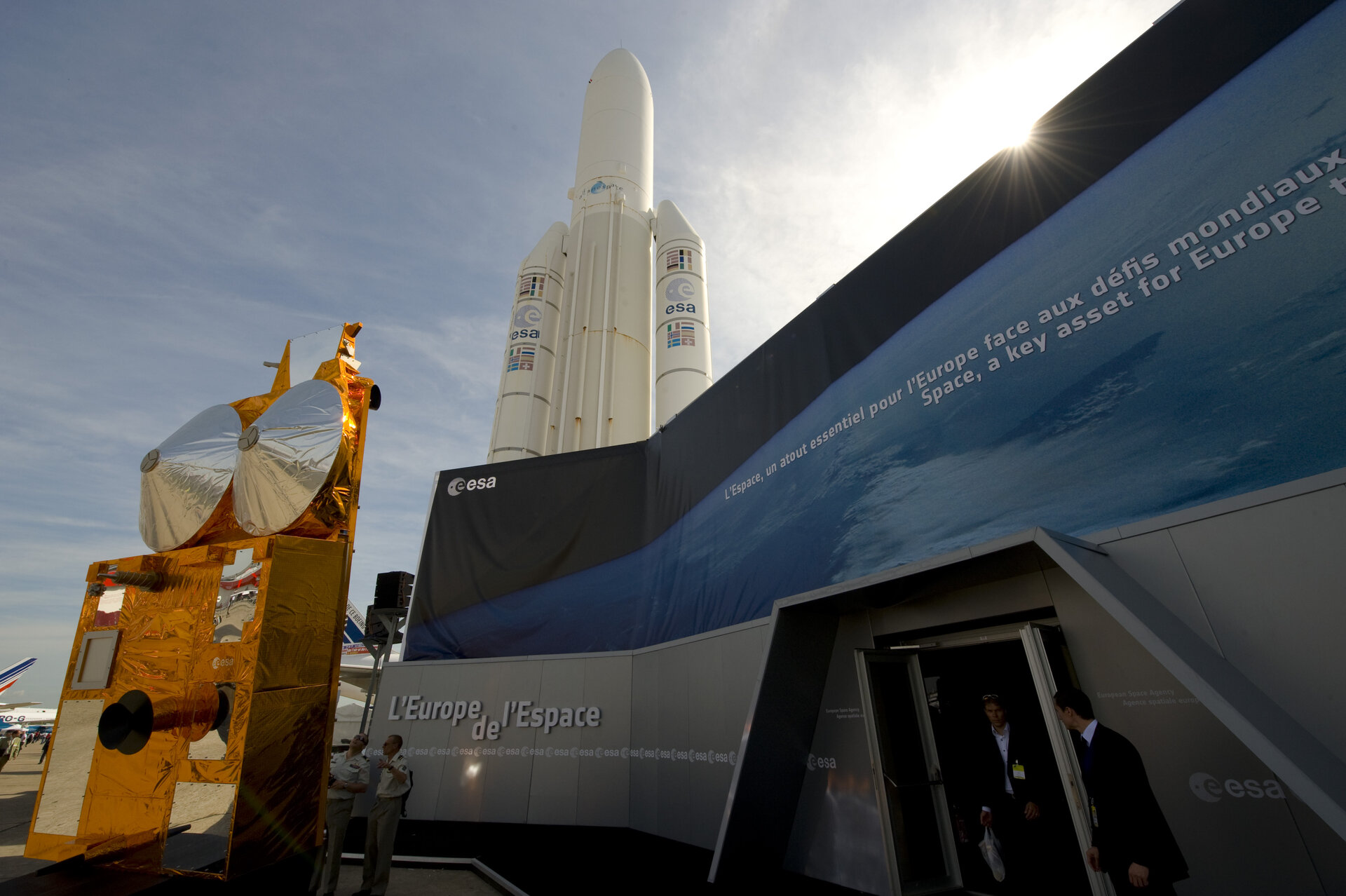 ESA Pavilion at the Paris Air Show, Le Bourget