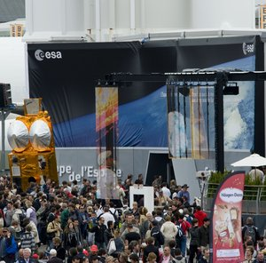 External view of the ESA Pavilion, Paris Air Show