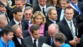 Nicolas Sarkozy at the Paris Air Show