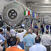 Node 3 welcoming ceremony at KSC