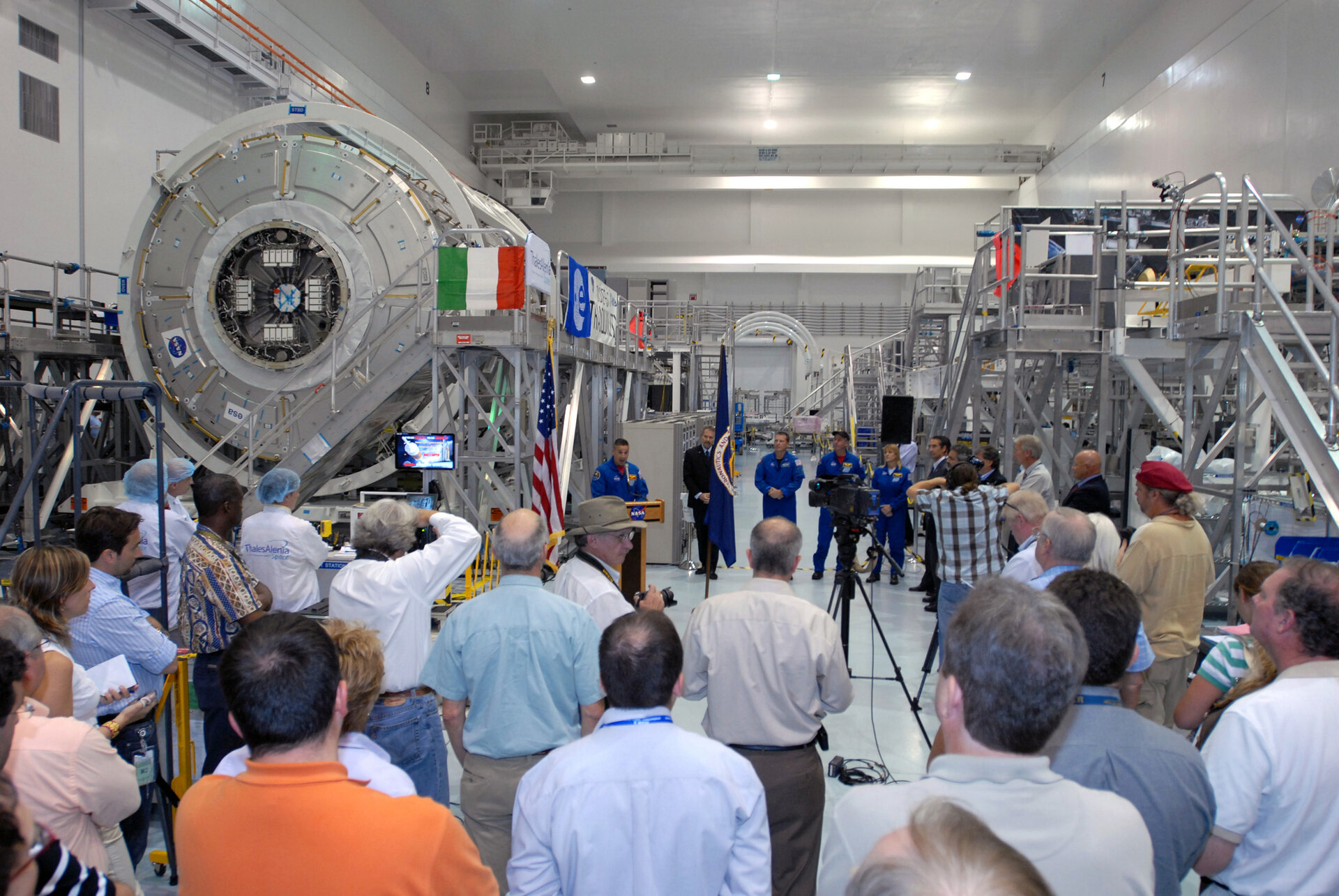 Node-3 welcoming ceremony at NASA's Kennedy Space Center, Florida