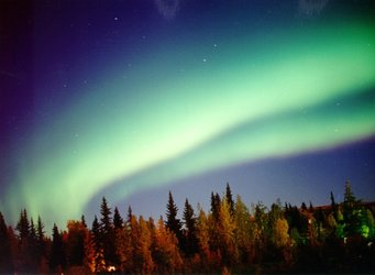 Northern lights – example of space weather